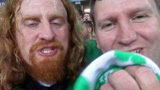 When Grown Men Cry- Raw Footage from Ireland V Italy- An epic night in Lille