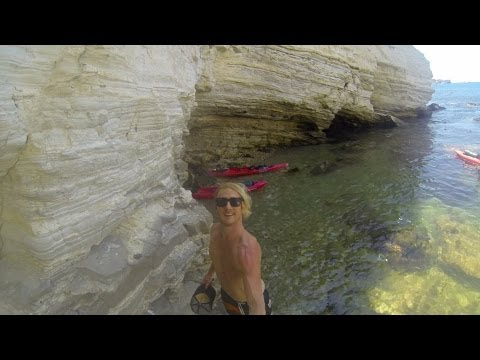 Catalina Island Summer Kayak Camping Adventure