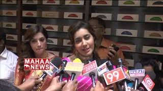 CMR Shopping Mall Inauguration by Rashi Khanna and Mehreen