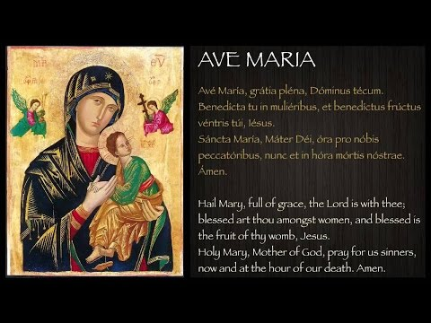 Vanava Doothan Than..,ave Maria Malayalam  Christian Novena Song video