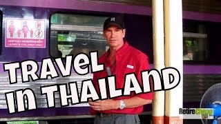 Domestic Travel Thailand – Planes Trains and Automobiles