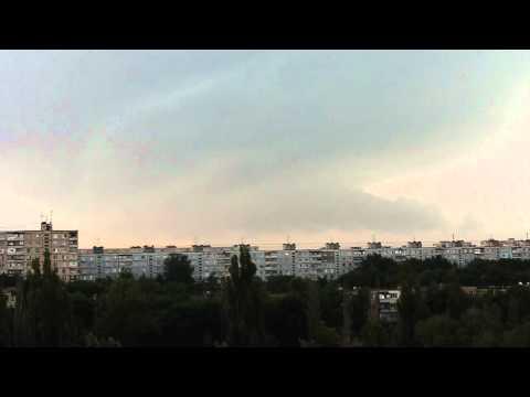 Гроза 26 июня 2011 г. Харьков Салтовка