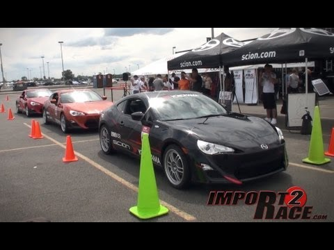 Scion FR-S FIRST DRIVE - Driver: John Torres - import2race