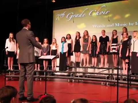 """The Chain"", performed by Graland Country Day School's 7th Grade Choir"
