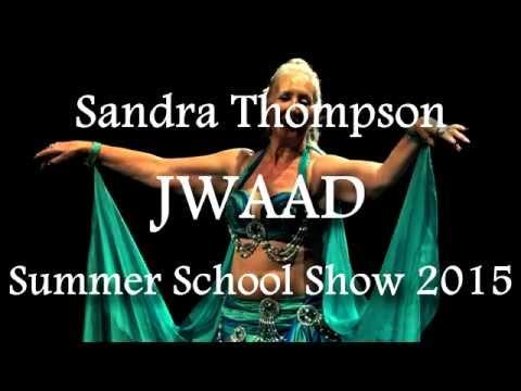 Sandra performing at JWAAD Summer School Show 2015