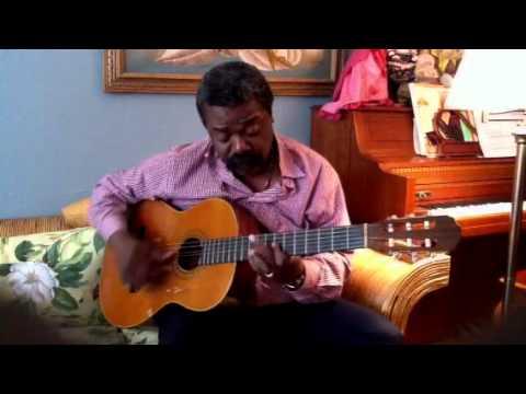 Live rendition of Mesi Bon Dye by Ricardo Franck (Ti Plume) Live, Playing at Home