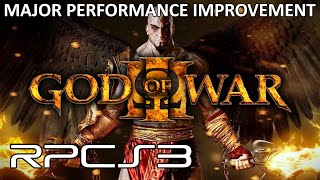 RPCS3 - God of War 3 Major Performance Improvement! (4K IR Gameplay)