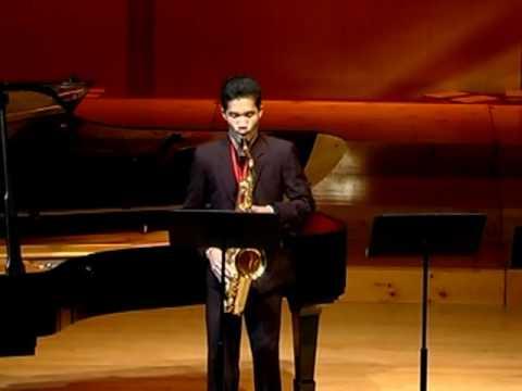 Concerto for Tenor Saxohone by Robert Ward / Wisuwat Pruksavanich (Part 1)