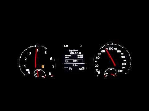Golf Mk7 GTI IS38 APR 0-220km/h