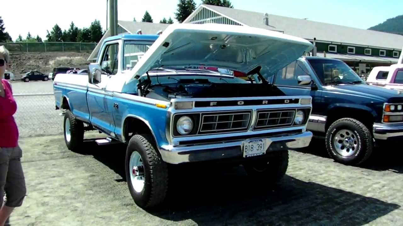 1976 Ford F 250 4x4 - YouTube