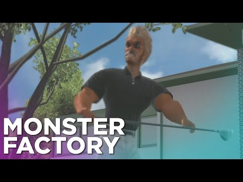 Monster Factory: Making a Golf All-Star in Tiger Woods '08