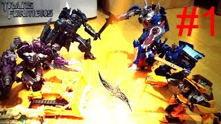 Transformers-Stop Motion-????-????-[Find the all spark?????] Part.1 ???