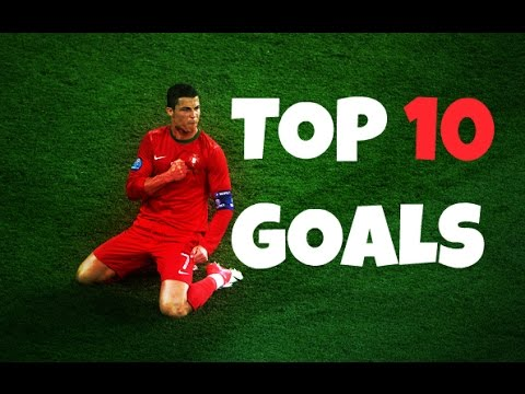 CRISTIANO RONALDO ● TOP 10 GOALS ● PORTUGAL ● 2003-2014