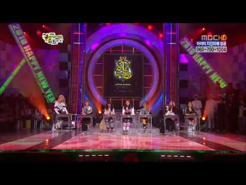 [hd] 100214 Snsd Vs After School  Dance Battle video