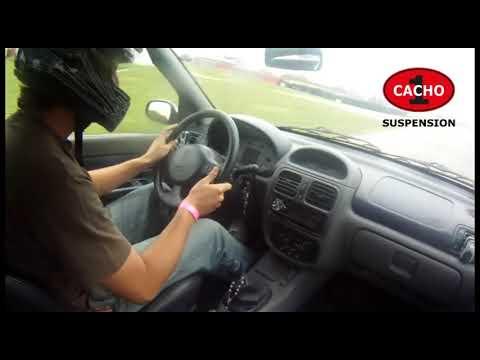 Clio sport 1.6 cayendose de la clase 2 del galvez, Cacho Suspensión in car