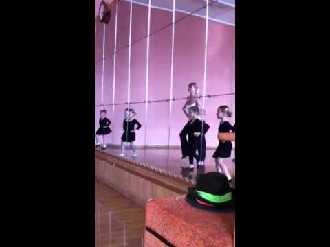 Уроки бальных танцев для малышей )