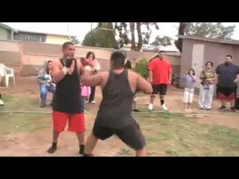 Jose Vs Fuji         BACKYARD MMA FIGHTING Image 1