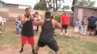 Jose Vs Fuji         BACKYARD MMA FIGHTING