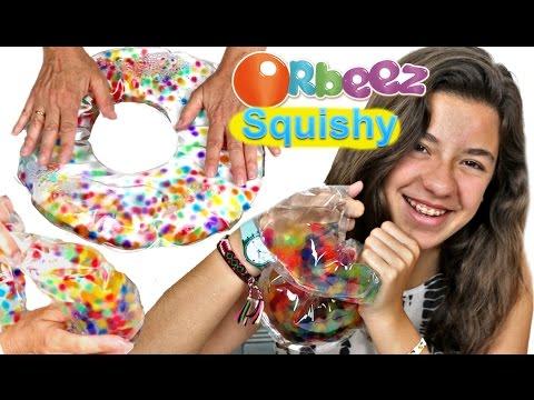 Ideas con juguete ORBEEZ:  Donut líquido anti stress