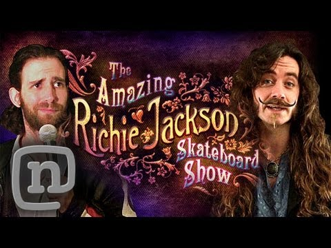 The Amazing Richie Jackson Skateboard Show Ep. 1