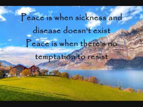 Peace is... (Poem)