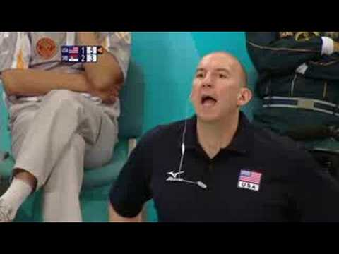 USA vs Serbia - Men's Volleyball - Beijing 2008 Summer Olympic Games
