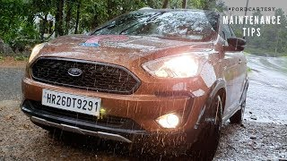 Car maintenance tips for Rains #FordCartesy