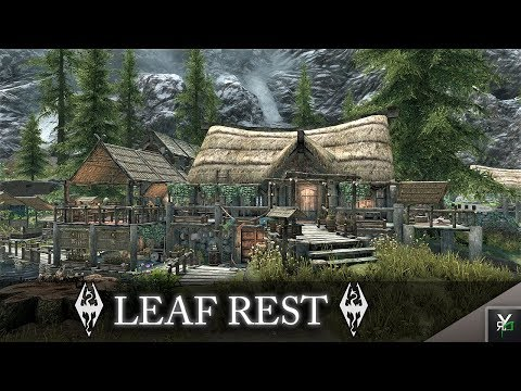 LEAF REST: Player Home!!- Xbox Modded Skyrim Mod Showcase