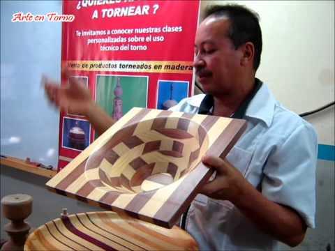 Arte en Torno - Técnicas del torneado de la madera