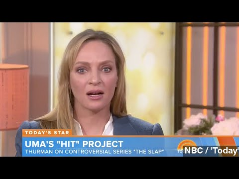 Uma Thurman Responds To Red Carpet Pics: 'I Look Weird'