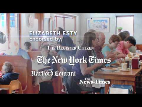 Elizabeth Esty - Backbone (Newspaper Endorsements 8/8/12)