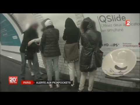 "PARIS : ALERTE AUX PICKPOCKETS , ""METRO & LOUVRE"".HD720p"