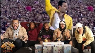 First Time Hearing Queen - Under pressure (Live at Wembley) REACTION