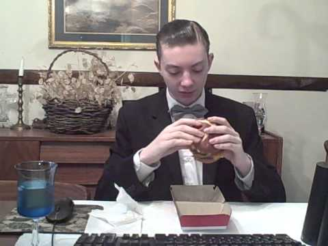Wendy's Pretzel Burger -- Running On Empty -- Food Review