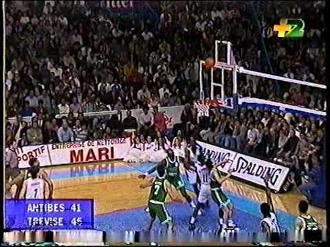Olympique d'Antibes-Benetton Treviso 93-99