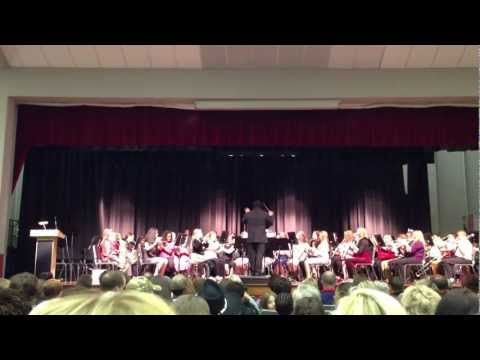Maddox Middle School 6th grade Christmas concert!