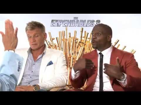 "Dolph Lundgren and Terry Crews Talk About ""The Expendables 3"""