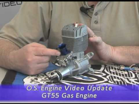 O.S. Engine® RC Video Update: GT55 Gas Engine