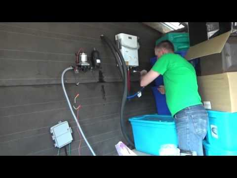 Hot & Cold Running Water In Off Grid Tiny Home