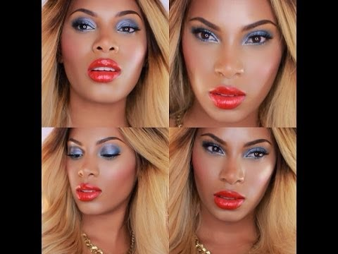 Beyonce Blow Inspired Makeup