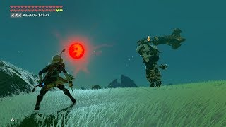 Zelda: BOTW (Sheikah Sheik Link VS Plateau Lynel) Sheikah Weapons Only