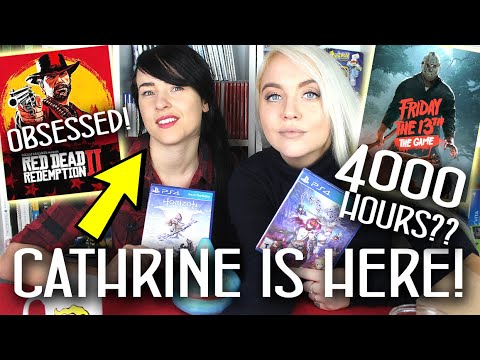 4000 HOURS IN FRIDAY 13th!? Obsessed With Red Dead Redemption 2! + UNBOXING PS4 GAMES!!