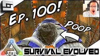 ARK: Survival Evolved - EP100 FUNNY MOMENTS MONTAGE! S3E100 ( Gameplay )