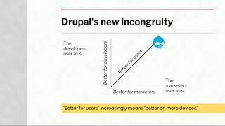 DrupalCon Vienna 2017: Decoupled site building: Drupal's next challenge