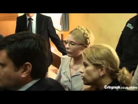 Scuffles break out during Yulia Tymoshenko trial