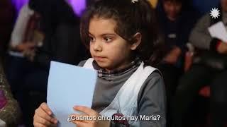 María, del merendero El Milagro del Monte en Quilmes  #tuvoztuvoto