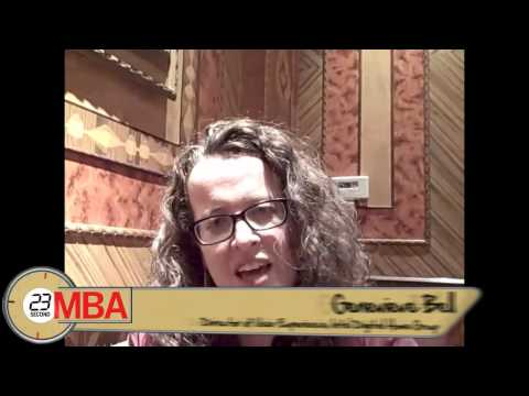30 Second MBA - Dr. Genevieve Bell, Director of user experience, Intel Digital Home Group, - How do