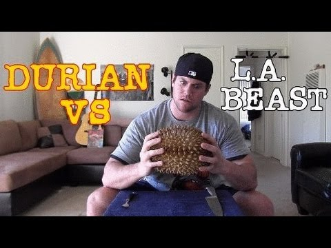 Durian Fruit Vs L.a. Beast video