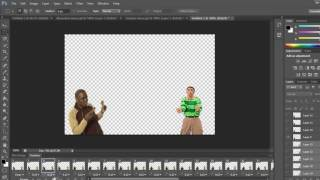 Photoshop Tutorial - Combine gifs in photoshop cs6