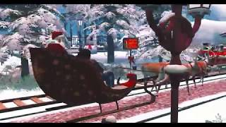 Second Life WINTER ICE CHRISTMAS FEST 2018